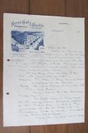 Courrier De L'Hôtel Gay De France Annemasse Des Années 20 - Deutschland