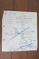 Courrier De Buffler Heymann Guebwiller Des  Années 20 - Deutschland