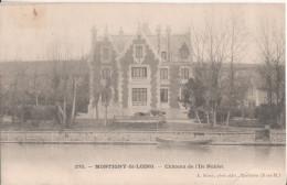 77  Montigny Sur Loing  Chateau De L'ile Noblet - Autres Communes