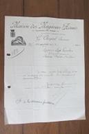 Courrier De Maisons Des Magasins Réunis  Des  Années 20 - Deutschland