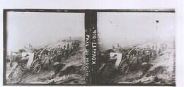 Guerre 1914-1918 Plaque De Verre Stéréo N°710 LAFFAUX Près Du Moulin - Diapositivas De Vidrio