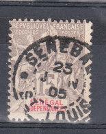 SENEGAL YT 23 Oblitéré St Louis 23 Juin 1905 - Usados