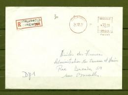Brief Van Andenne Naar Namur - Franking Machines