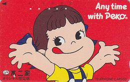Télécarte Japon / 110-88440 - PEKO & POKO - BD Comics Japan Phonecard Telefonkarte - 105 - Comics