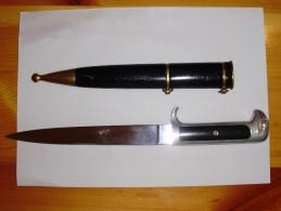 PUGNALE DELLA MVSN MODELLO 38 - Armes Blanches