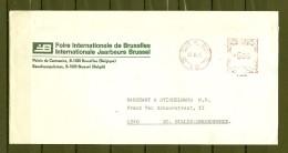 Brief Van Bruxelles  Brussel Naar St Gilles Dendermonde - Franking Machines