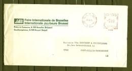 Brief Van Bruxelles 6 Brussel Naar Sint Gilles Dendermonde - Franking Machines