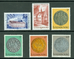 Luxembourg 1980 Yv. 953/956**, 957/958** Mi 1003/1006**, 1007/1008** Cat. Yv 7,00 € - Luxembourg