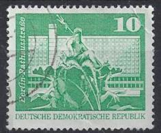 Germany (DDR) 1973  Aufbau In Der DDR  (o) Mi.1843 (type I B) - [6] Repubblica Democratica
