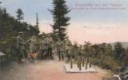MILITARIA  -  VALLEE DE LA CELLES  -  88  -  Soldats Allemands Jouant Au Jeu De Quilles - Weltkrieg 1914-18