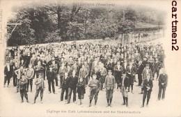 FELDKIRCH VORALBERG ZOLINGE DES KATH LEHRERSEMINARS UND DER HANDELSSCHULE AUSTRIA 1900 - Feldkirch