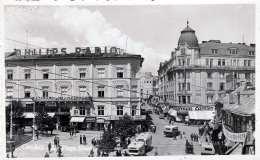 CERNAUTI (CernăuÅ£i Czerniowce, Ukraine) - Piata Unirie, Belebter Platz, Autobus, Geschäfte, Orig.Fotokarte Um 1950 - Ukraine