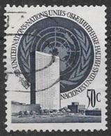 T 00528 - Nations-Unies, New York N° 10 Oblitéré, Côte 13.00 € - New-York - Siège De L'ONU
