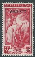 1950-54 TRIESTE A LAVORO 35 LIRE MNH ** - P21-10 - Mint/hinged