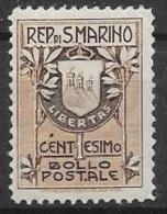 T 00177 - Saint-Marin 1907, N° 47 Neuf Charnière, Côte 6.50 €