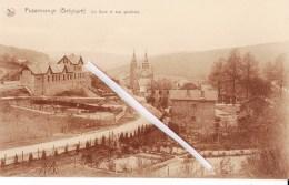 PUSSEMANGE (Belgique) - La Gare Et Vue Générale - Vresse-sur-Semois