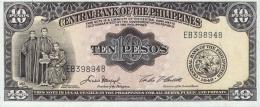 PHILIPPINES 10 PESOS 1949 P-136e UNC [PH0920e] - Filippijnen