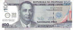 PHILIPPINES 100 PISO 2013 (2014)  PNL UNC COMMEMORATIVE [PHNL2014] - Filippine