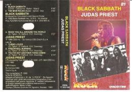 BLACK SABBATH-JUDAS PRIEST - Audiokassetten