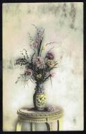 Fleurs Dans Un Vase - Circulé - Circulated - Gelaufen - 1913. - Fleurs, Plantes & Arbres