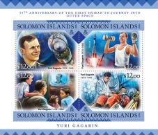 SOLOMON Isl. 2016 - Y. Gagarin