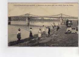 VILLEFRANCHE SUR SAONE - Concours De Pêche - 23 Juin 1912 - Pont De Frans - Très Bon état - Villefranche-sur-Saone