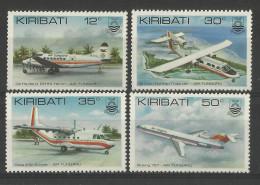 KIRIBATI  1982  AIRCRAFT  SET  MNH - Vliegtuigen