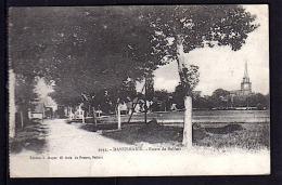 DANNEMARIE (68) 1919  ENTREE ROUTE DE BELFORT PHOTOS R/V - Dannemarie