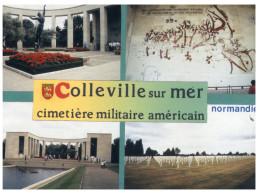 (M+S 220) France - Military - WWII - Colleville Sur Mer Cemetery - Cimiteri Militari
