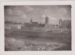 """Oude Foto Jaren 40 Mechelen Afleidingsdijle Met Achteraan """"de Centjesmuur"""" 6.5 X 9 Cm - Malines"""