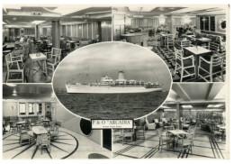 (890) (old Postcard) - P&O Arcadia Cruise Ship - Steamers
