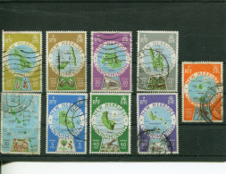 (stamp 400 - 02-09-2016) Selection Of Used New Hebrides Stamps - New Hebrides