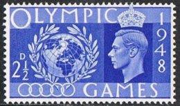 GB SG495 1948 Olympics 2½d Unmounted Mint - Ongebruikt