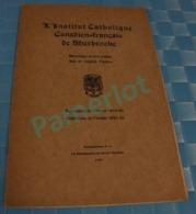 1921 Sherbrooke Quebec Canada - Messager St-Michel, L´institut Catholique Canadienne Française De Sherbrooke ,  4 Scans - Religion