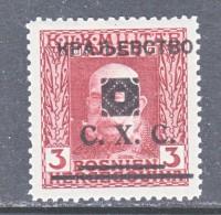 Bosnia And Herzegovina  1 L 25  * - Bosnia And Herzegovina