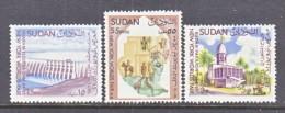SUDAN  167-9   **  N.Y. WORLD FAIR - Sudan (...-1951)
