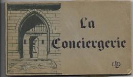 75 PARIS    La CONCIERGERIE  Carnet De 20  Photos - History