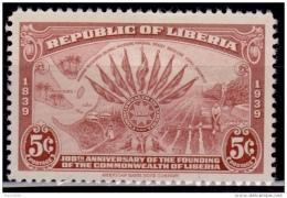 Liberia 1940, 4c, Scott# 278, MH - Liberia