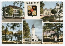 CPm  93  :   GAGNY   Multi Vues   1962 VOIR  DESCRIPTIF  §§§§ - Gagny