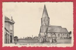 Zuienkerke - De Kerk , Van Zuiden -1951  ( Verso Zien ) - Zuienkerke