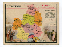 Pub Des Produits Du Lion Noir : L´Est Avec Département Marne Aube Ardennes Reims  Et Champagne   A  VOIR  !!!!!!! - Advertising