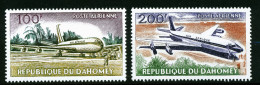 A4185) Benin Dahomey Flugzeuge Airplanes Mi.222-225 ** Unused MNH - Benin – Dahomey (1960-...)