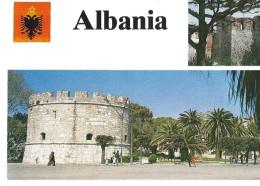 ALBANIE---ALBANIA--pamje E Kalase-durres--view Of The Castle--durres---voir 2 Scans - Albanie