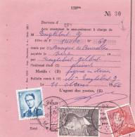 Baudouin + Poortman / Protêt De Spy - 1953-1972 Lunettes