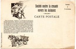 Société Contre La Cruauté Envers Les Animaux -Belgique VERVIERS - Cartes Postales