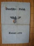 Deutsches Reich, Kennkarte Mit Foto, Brake In Oldenburg, 13. April 1945 !! - 1939-45