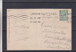Grande Bretagne - Carte Postale Des Années 30 - Oblitération London - 1902-1951 (Rois)