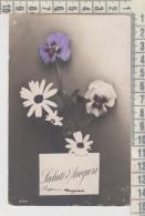 Auguri Saluti Fiori 1912 - Auguri - Feste