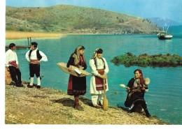 ALBANIE---ALBANIA--pamje Nga Liqeni I Prespes--view Of The Prespe Lake---voir 2 Scans - Albanie
