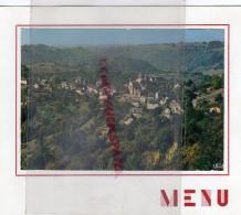 87 - LIMOGES - MENU DEMI FINALE PARCOURS SPORTIF SAPEUR POMPIER-TAVERNE LION OR-1964 - THEOJAC IRIS-BONNICHON - Menus